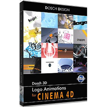 DOSCH DESIGN DOSCH 3D: Logo Animations for Cinema4D D3D-LAC4D