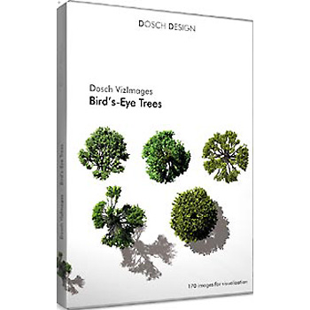 DOSCH DESIGN DOSCH Viz-Images: Bird's Eye ~ Trees VI-BT
