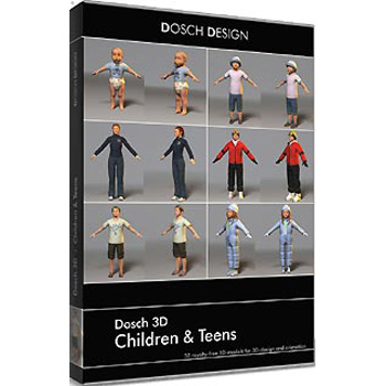 DOSCH DESIGN DOSCH 3D: Children & Teens D3D-CHT