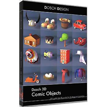 DOSCH DESIGN DOSCH 3D: Comic Objects D3D-COOB