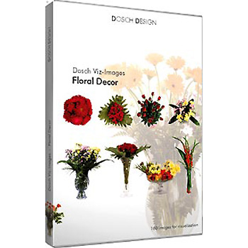DOSCH DESIGN DOSCH Viz-Images: Floral Decor VI-FD