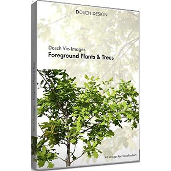 DOSCH DESIGN DOSCH Viz-Images: Foreground Plants & Trees VI-FPT