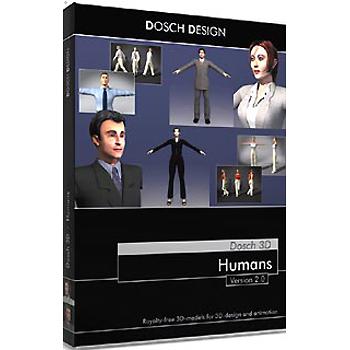 DOSCH DESIGN DOSCH 3D: Humans V2 D3D-HU