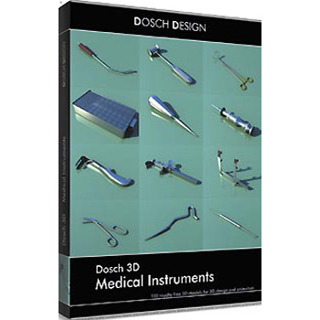 DOSCH DESIGN DOSCH 3D: Medical Instruments D3D-MEDINS