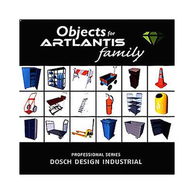 DOSCH DESIGN DOSCH 3D: Industrial Objects for Artlantis D3D-IO-ART