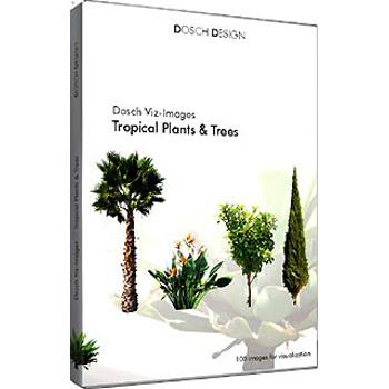 DOSCH DESIGN DOSCH Viz-Images: Tropical Plants & Trees DVI-TPT