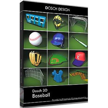 DOSCH DESIGN DOSCH 3D: Baseball D3D-BA