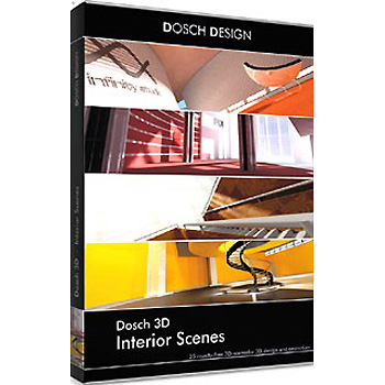 DOSCH DESIGN DOSCH 3D: Interior Scenes D3D-IS