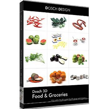 DOSCH DESIGN DOSCH 3D: Food & Groceries D3D-FGR