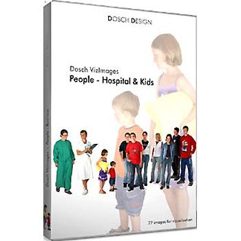 DOSCH DESIGN DOSCH Viz-Images: People ~ Hospital & Kids ~ 3D EDITION DVI-PH-3DE