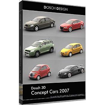 DOSCH DESIGN DOSCH 3D: Concept Cars 2007 D3D-CONC07