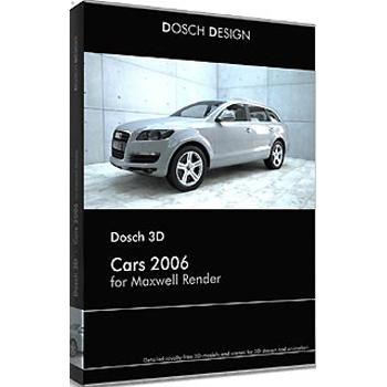 DOSCH DESIGN DOSCH 3D: Cars 2006 for Maxwell Render D3D-CA6-MR