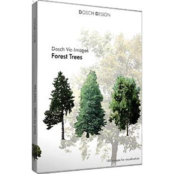 DOSCH DESIGN DOSCH Viz-Images: Forest Trees DVI-FT