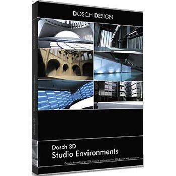 DOSCH DESIGN DOSCH 3D: Studio Environments D3D-STE