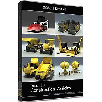 DOSCH DESIGN DOSCH 3D: Construction Vehicles D3D-COVE