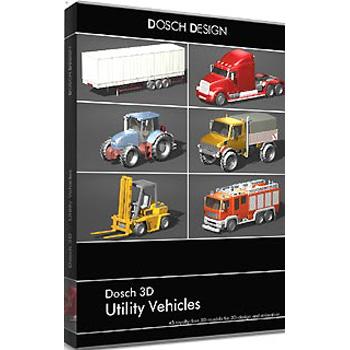 DOSCH DESIGN DOSCH 3D: Utility Vehicles D3D-UV
