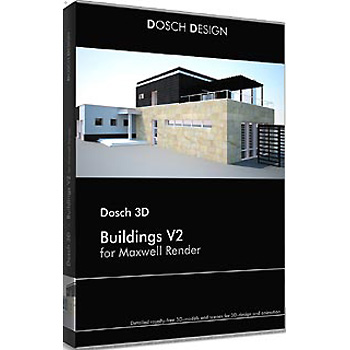 DOSCH DESIGN DOSCH 3D: Buildings V2 for Maxwell Render D3D-BU-MR