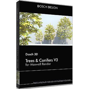 DOSCH DESIGN DOSCH 3D: Trees & Conifers for Maxwell Render D3D-TC3-MR