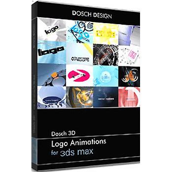 DOSCH DESIGN DOSCH 3D: Logo Animations for 3ds max D3D-LA-3DM