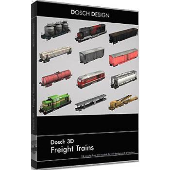 DOSCH DESIGN DOSCH 3D: Freight Trains D3D-FRTR