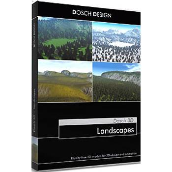 DOSCH DESIGN DOSCH 3D: Landscapes D3D-LC