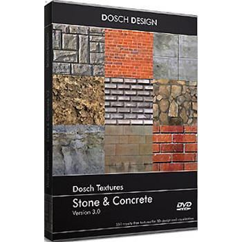 DOSCH DESIGN DOSCH Textures: Stone & Concrete V3 DT-SCV3