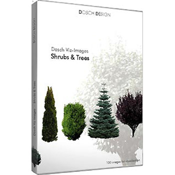 DOSCH DESIGN DOSCH Viz-Images: Shrubs & Trees DVI-ST