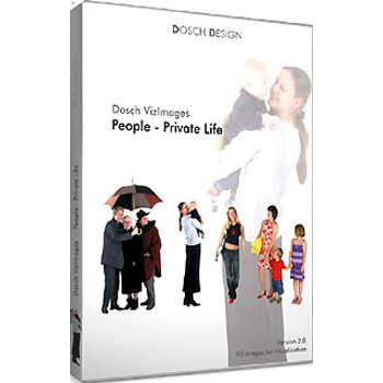 DOSCH DESIGN DOSCH Viz-Images: People ~ Private Life ~ 3D EDITION DVI-PP-3DE