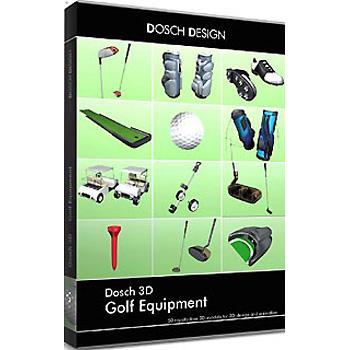DOSCH DESIGN DOSCH 3D: Golf Equipment D3D-GE