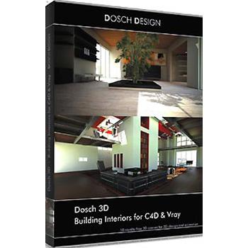 DOSCH DESIGN DOSCH 3D: Building Interiors for C4D & Vray D3D-BIC4DVR