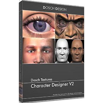 DOSCH DESIGN DOSCH Textures: Character Designer V2 DT-CDV2