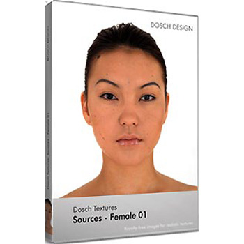 DOSCH DESIGN DOSCH Textures: Sources - Female 01 DT-SFE01
