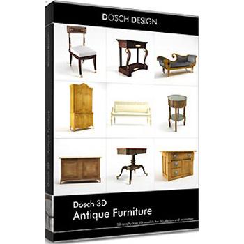DOSCH DESIGN DOSCH 3D: Antique Furniture D3D-ANF