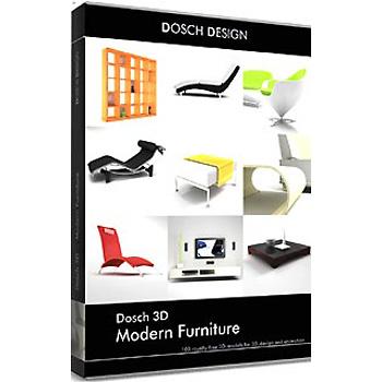DOSCH DESIGN DOSCH 3D: Modern Furniture D3D-MF