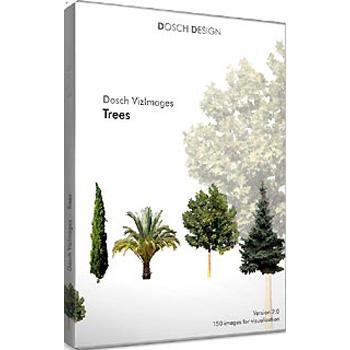 DOSCH DESIGN DOSCH Viz-Images: Trees ~ 3D EDITION DVI-TR-3DE