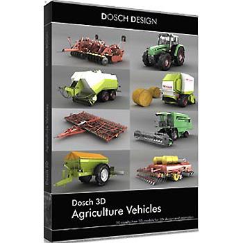 DOSCH DESIGN DOSCH 3D: Agriculture Vehicles D3D-AGVE