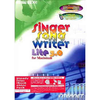 インターネット Singer Song Writer Lite 3.0 for Macintosh Steady iMac & iBook & eMac Pack SSWLT30M-SI