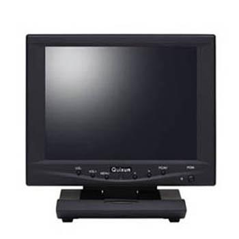 クイックサン 8.0インチ TFTタッチパネルモニタ(800x600/ブラック) QT-802B-AV-TP