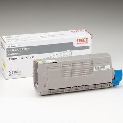 OKI TNR-C4GY2 大容量イエロー トナー(11,000枚) OK-TNC711YW-WJ