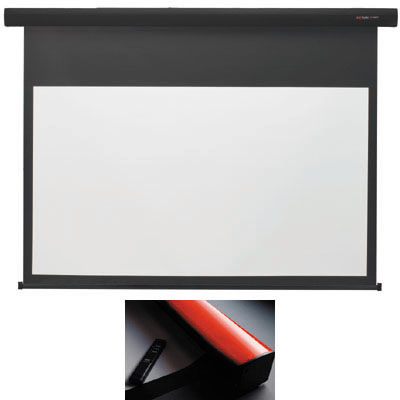 キクチ 【台数限定大特価】(100インチ16:9)電動スクリーン「Stylist E」 (SE100HDWA)(赤) SE-100HDWA/R【納期目安:2週間】