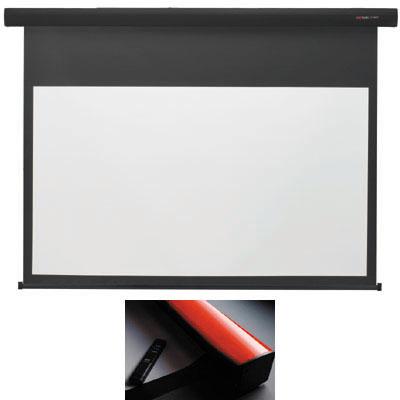 キクチ 【台数限定大特価】(80インチ16:9)電動スクリーン「Stylist E」 (SE80HDWA)(赤) SE-80HDWA/R【納期目安:2週間】