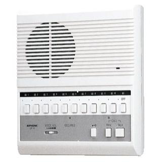 アイホン アイホン 交互通話式複合式(10局用親機) LEF-10