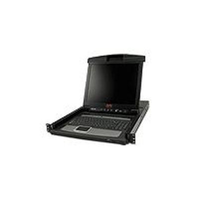 APC 17? Rack LCD Console - English (US) with Integrated 16 Port Analog KVM Switch AP5816【納期目安:1週間】