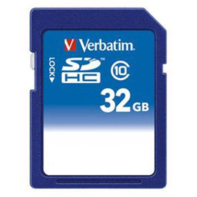 三菱化学メディア <Verbatim製> SDHCカード 32GB CLASS10 SDHC32GJVB1