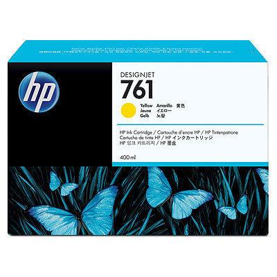 日本HP HP 761 インク 400ml イエロー CM992A