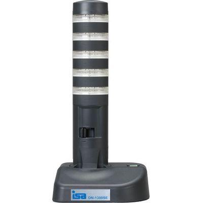 アイエスエイ 警子ちゃん3G USB警告灯(5層5色LED灯/ダークグレー/LED透明レンズ) (DN1300SE5LSB) DN-1300SE-5LSB