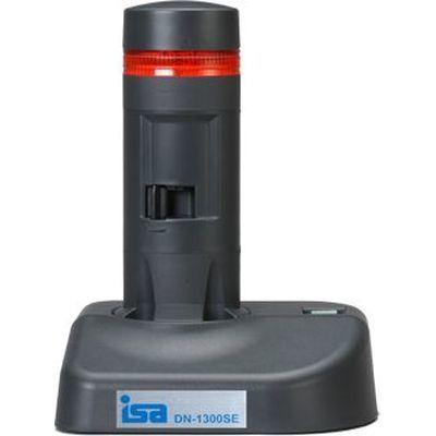 アイエスエイ 警子ちゃん3G USB警告灯(1層1色 赤 LED灯/ダークグレー/LED色付レンズ) (DN1300SE1RCB) DN-1300SE-1RCB