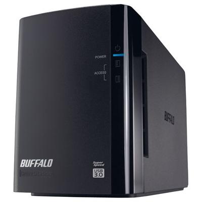 バッファロー ミラーリング機能搭載 USB3.0用 外付けハードディスク 2ドライブモデル 6TB (HDWL6TU3/R1J) HD-WL6TU3/R1J