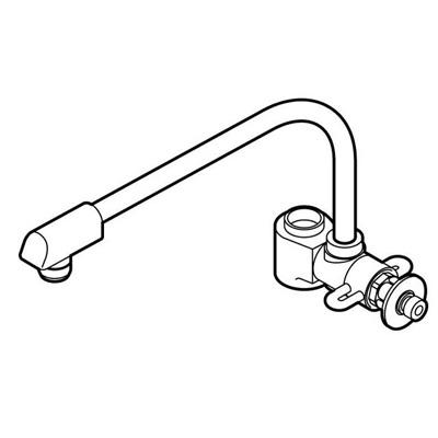 その他 食器洗い乾燥機用分岐水栓 CB-SYB6【納期目安:06/15入荷予定】
