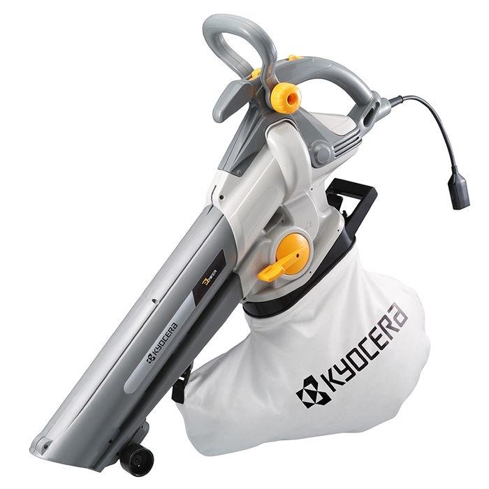 リョービ(RYOBI) 【売れています!】【台数限定大特価!!】リョービ ブロワーバキューム 無段変速(ワイドノズル&補助ハンドル付属) RESV-1010